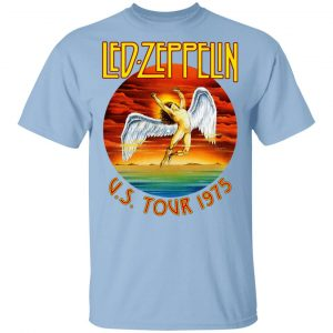 Led Zeppelin US Tour 1975 T-Shirts, Hoodies, Sweater