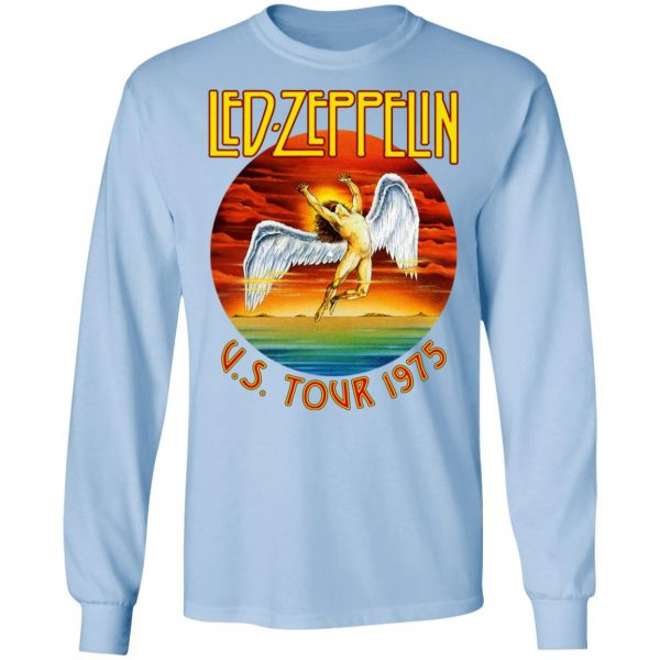 Led Zeppelin US Tour 1975 T-Shirts, Hoodies, Sweater Apparel 11