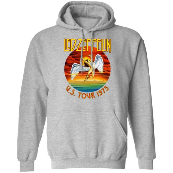 Led Zeppelin US Tour 1975 T-Shirts, Hoodies, Sweater Apparel 12