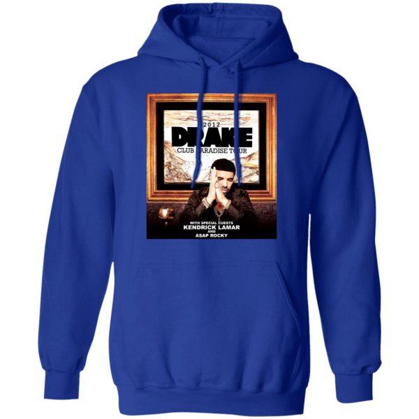 Drake Club Paradise Tour 2012 T-Shirts, Hoodies, Sweater Apparel 15