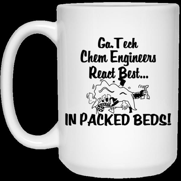 Georgia Tech Chem Engineers React Best In Packed Beds Mug Coffee Mugs 4