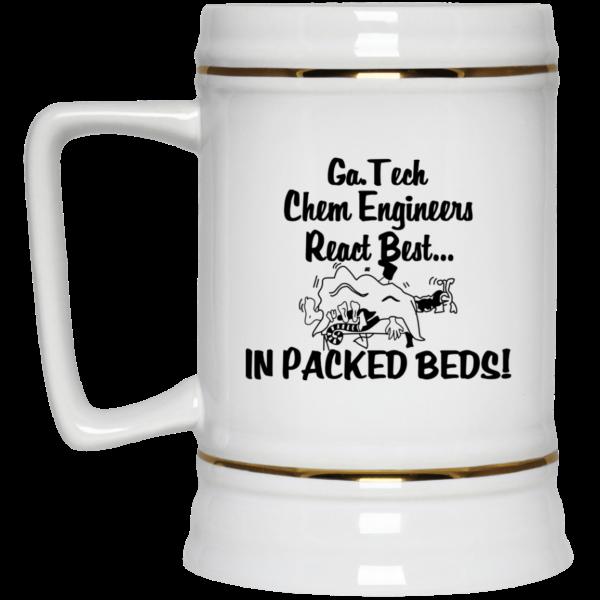 Georgia Tech Chem Engineers React Best In Packed Beds Mug Coffee Mugs 5