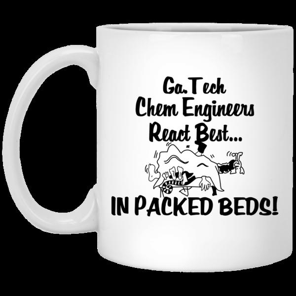 Georgia Tech Chem Engineers React Best In Packed Beds Mug Coffee Mugs 2