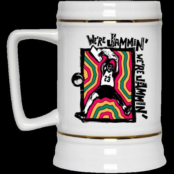 We're Jammin' Bob Marley Michael Jordan 23 Mug Coffee Mugs 6
