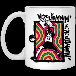 We're Jammin' Bob Marley Michael Jordan 23 Mug