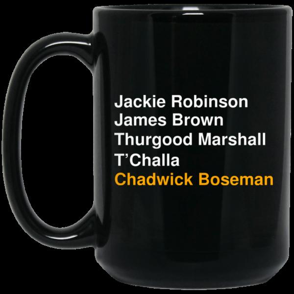 Jackie Robinson James Brown Thurgood Marshall T'Challa Chadwick Boseman Mug Coffee Mugs 4