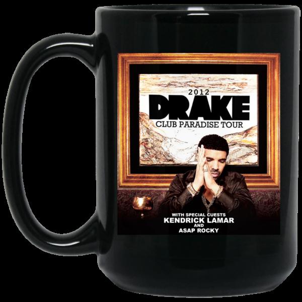 Drake Club Paradise Tour 2012 Mug Coffee Mugs 4