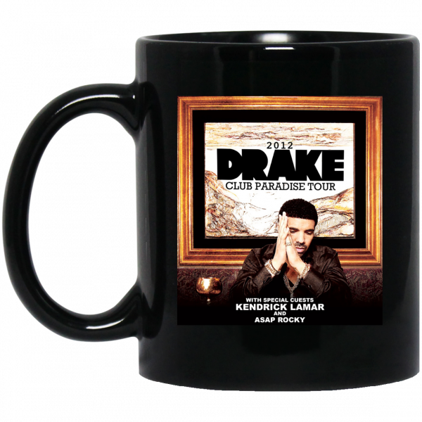 Drake Club Paradise Tour 2012 Mug Coffee Mugs 3