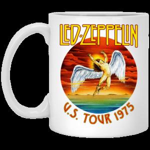 Led Zeppelin US Tour 1975 Mug