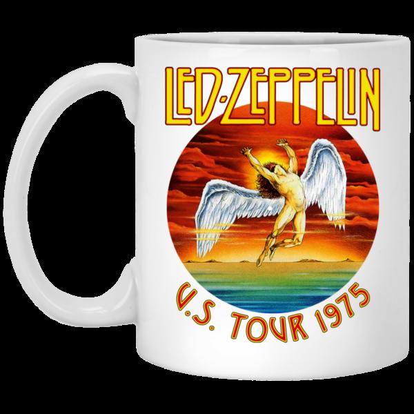 Led Zeppelin US Tour 1975 Mug Coffee Mugs 3