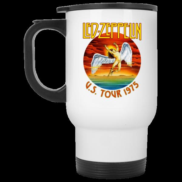 Led Zeppelin US Tour 1975 Mug Coffee Mugs 4