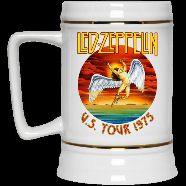 Led Zeppelin US Tour 1975 Mug Coffee Mugs 6