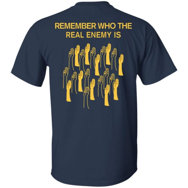 Remember Who The Real Enemy Is The Hunger Games T-Shirts, Hoodies, Sweater Apparel 8