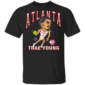 Atlanta Trae Young Hawks Caricature T-Shirts, Hoodies, Sweater Apparel