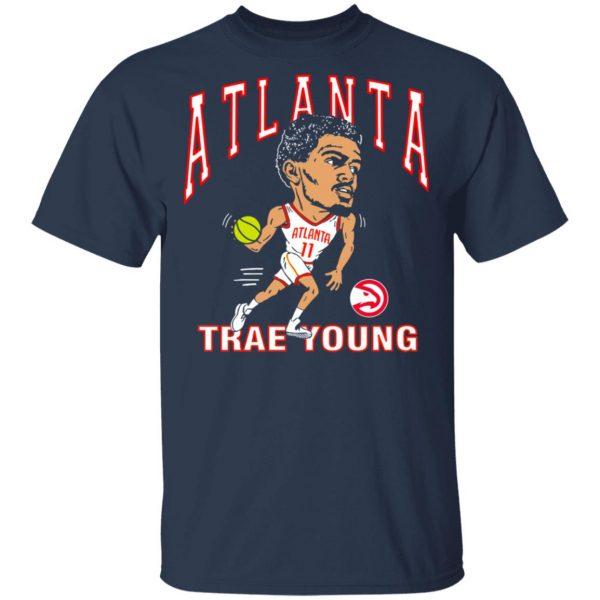 Atlanta Trae Young Hawks Caricature T-Shirts, Hoodies, Sweater Apparel 5