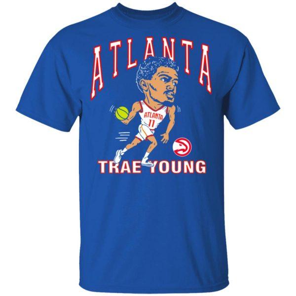 Atlanta Trae Young Hawks Caricature T-Shirts, Hoodies, Sweater Apparel 6