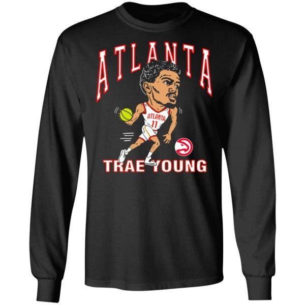 Atlanta Trae Young Hawks Caricature T-Shirts, Hoodies, Sweater Apparel 11