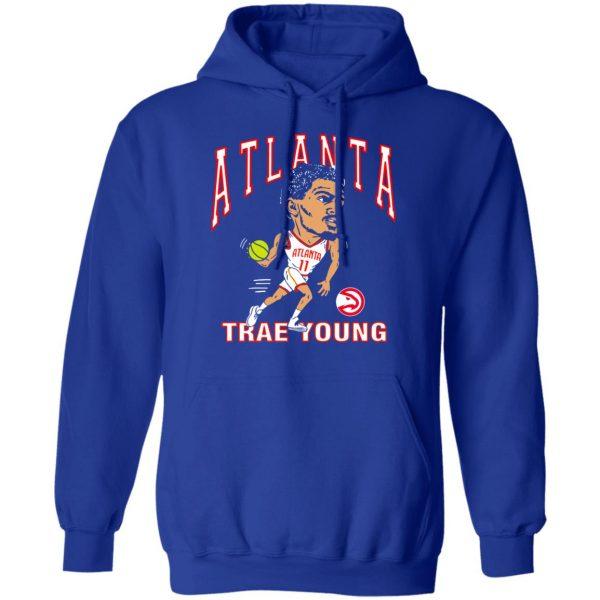 Atlanta Trae Young Hawks Caricature T-Shirts, Hoodies, Sweater Apparel 15