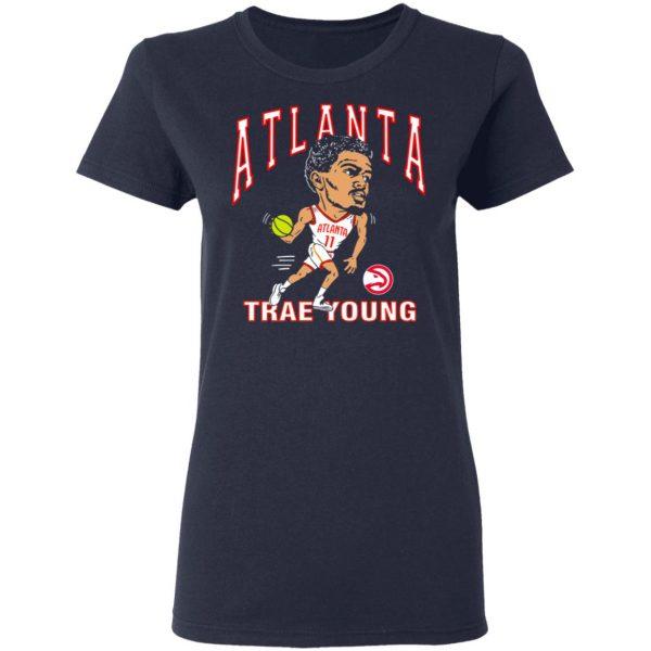 Atlanta Trae Young Hawks Caricature T-Shirts, Hoodies, Sweater Apparel 9