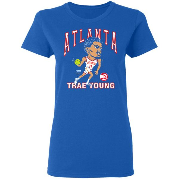 Atlanta Trae Young Hawks Caricature T-Shirts, Hoodies, Sweater Apparel 10