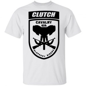 Clutch Elephant Riders Cavalry 414 T-Shirts, Hoodies, Sweater Apparel 2