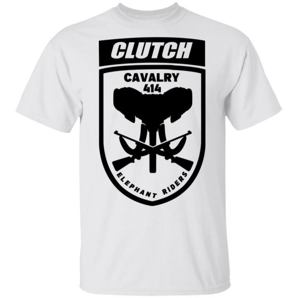 Clutch Elephant Riders Cavalry 414 T-Shirts, Hoodies, Sweater Apparel 4