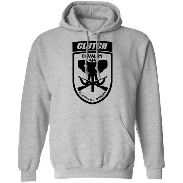 Clutch Elephant Riders Cavalry 414 T-Shirts, Hoodies, Sweater Apparel 12