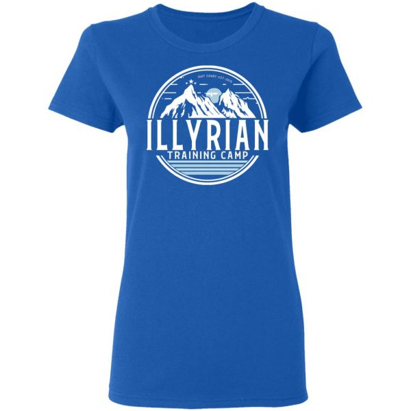 Illyrian Training Camp T-Shirts, Hoodies, Sweater Apparel 10