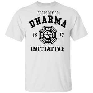 Property Of Dharma 1977 Initiative T-Shirts, Hoodies, Sweater Apparel 2