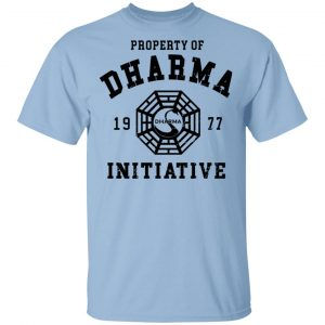 Property Of Dharma 1977 Initiative T-Shirts, Hoodies, Sweater Apparel