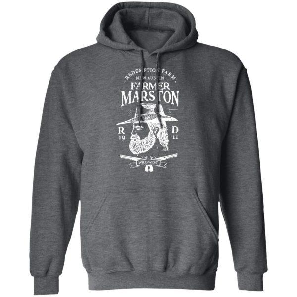 Farmer Marston Redemption Farm New Austin 1911 T-Shirts, Hoodies, Sweater Apparel 14