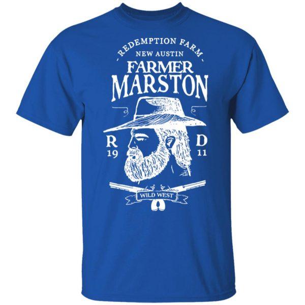 Farmer Marston Redemption Farm New Austin 1911 T-Shirts, Hoodies, Sweater Apparel 6
