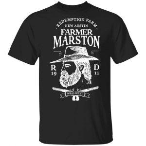 Farmer Marston Redemption Farm New Austin 1911 T-Shirts, Hoodies, Sweater Apparel