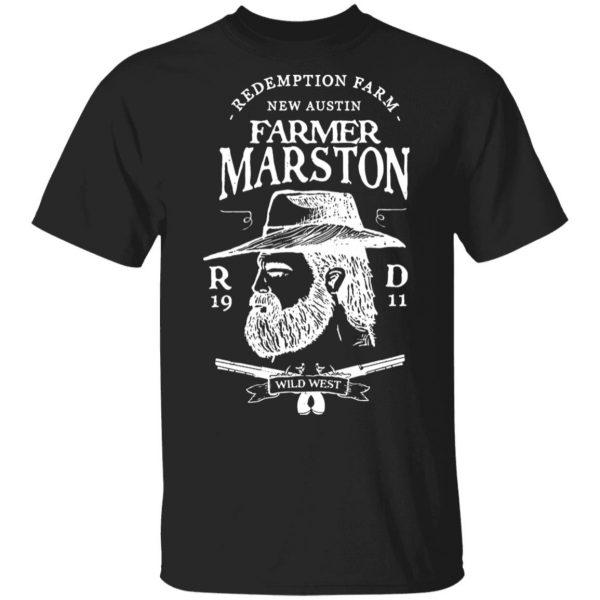 Farmer Marston Redemption Farm New Austin 1911 T-Shirts, Hoodies, Sweater Apparel 3