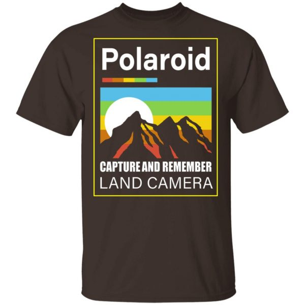 Polaroid Capture And Remember Land Camera T-Shirts, Hoodies, Sweater Apparel 4