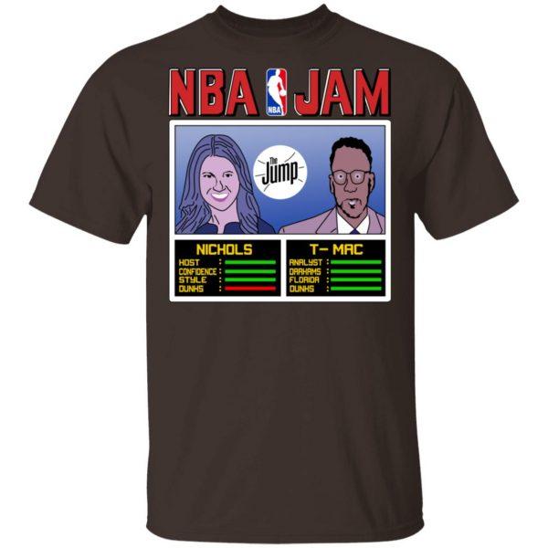 NBA Jam The Jump Nichols TMac T-Shirts, Hoodies, Sweater Apparel 4