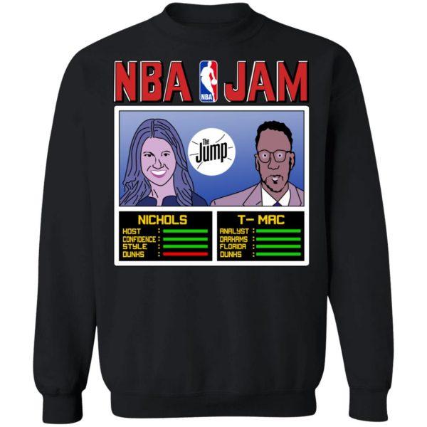 NBA Jam The Jump Nichols TMac T-Shirts, Hoodies, Sweater Apparel 13