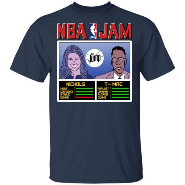 NBA Jam The Jump Nichols TMac T-Shirts, Hoodies, Sweater Apparel 5
