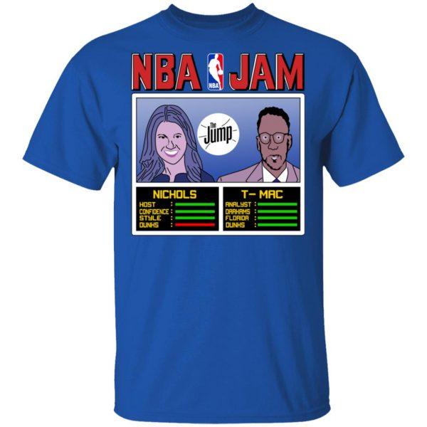NBA Jam The Jump Nichols TMac T-Shirts, Hoodies, Sweater Apparel 6