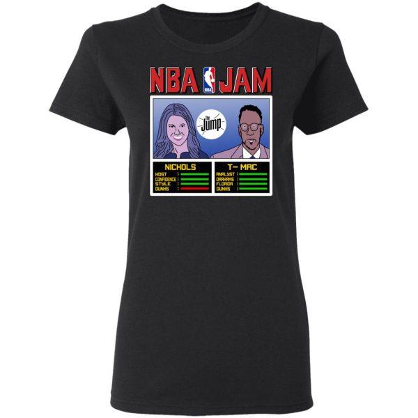 NBA Jam The Jump Nichols TMac T-Shirts, Hoodies, Sweater Apparel 7