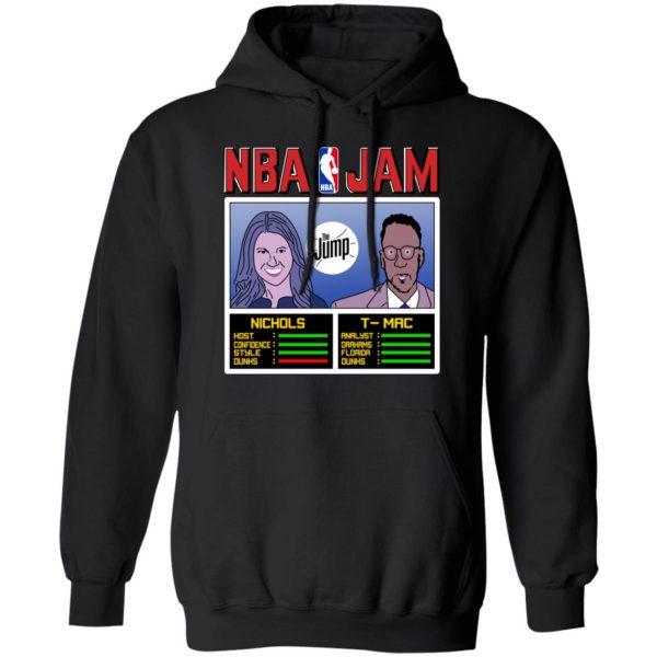NBA Jam The Jump Nichols TMac T-Shirts, Hoodies, Sweater Apparel 9