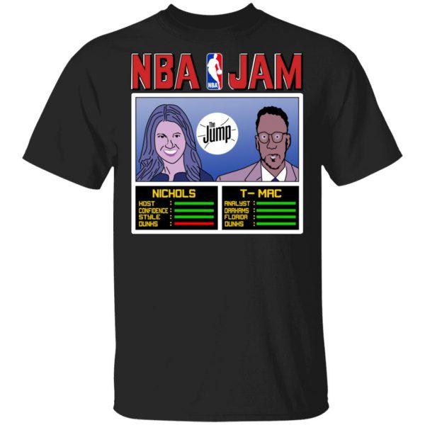 NBA Jam The Jump Nichols TMac T-Shirts, Hoodies, Sweater Apparel 3