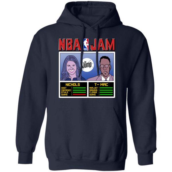 NBA Jam The Jump Nichols TMac T-Shirts, Hoodies, Sweater Apparel 10