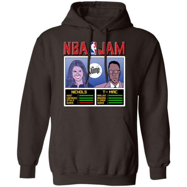 NBA Jam The Jump Nichols TMac T-Shirts, Hoodies, Sweater Apparel 11