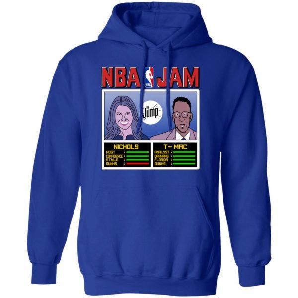 NBA Jam The Jump Nichols TMac T-Shirts, Hoodies, Sweater Apparel 12