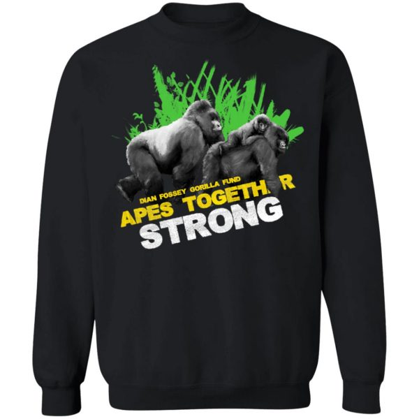 Gorilla Dian Fossey Gorilla Fund Apes Together Strong T-Shirts, Hoodies, Sweater Apparel 13
