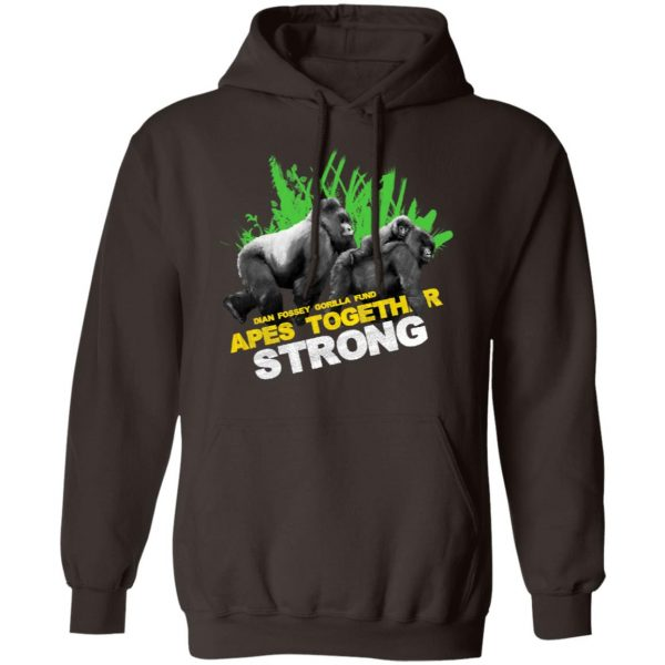 Gorilla Dian Fossey Gorilla Fund Apes Together Strong T-Shirts, Hoodies, Sweater Apparel 11