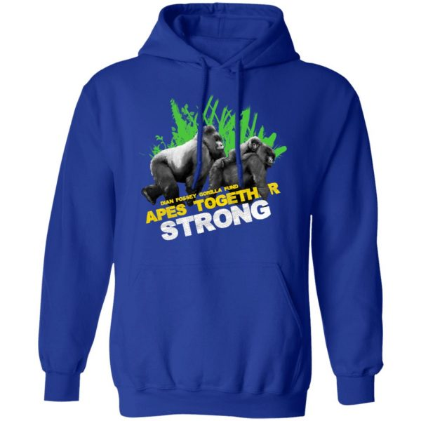 Gorilla Dian Fossey Gorilla Fund Apes Together Strong T-Shirts, Hoodies, Sweater Apparel 12