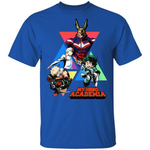 My Hero Academy T-Shirts, Hoodies, Sweater Apparel 6