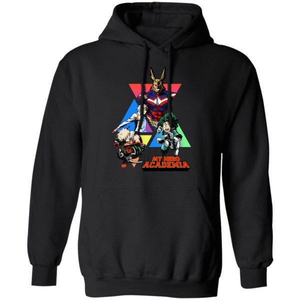 My Hero Academy T-Shirts, Hoodies, Sweater Apparel 9
